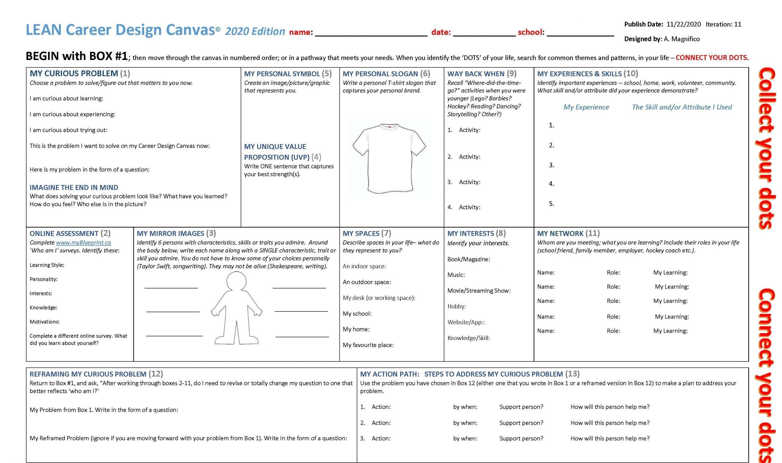 LEAN Career Design Canvas_2021
